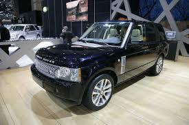 range rover sedan land rover debuts latest range at the 2009 geneva motor show