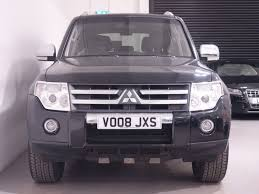 mitsubishi shogun 2017 used black mitsubishi shogun for sale hampshire