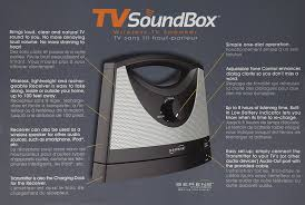 connect tv audio to home theater amazon com wireless tv speaker home audio u0026 theater