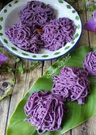 membuat mie warna ungu 52 resep mie ungu enak dan sederhana cookpad
