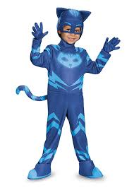 amazon com catboy deluxe toddler pj masks costume large 4 6
