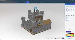 minecraft users will be able to export their creations to paint3d