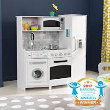 jouer a la cuisine kidkraft large play kitchen with lights and sounds cuisine et