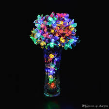 Solar Fairy Lights Australia by 2017 50 Led 21ft Multi Color Solar Powered Fairy String Lights