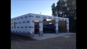 32 u0027 x 32 u0027 garage build slide show youtube