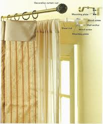 where to hang curtains 3 steps hanging curtains project ehowdiy com
