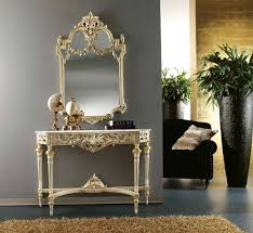 foyer table and mirror ideas amazing console table with mirror elegant luxury pics for foyer and