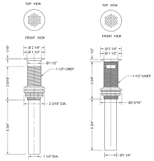 1 1 4 to 1 1 2 sink drain adapter grid strainer bathroom sink drains