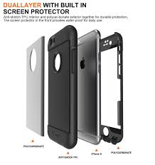 amazon com totu iphone 6s case rugged water resistant case full