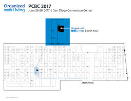 San Diego Convention Center Map by See You In Socal At Pcbc 2017 Organized Living