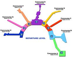 miami airport terminal map miami airfares florida