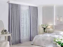 bay window curtain ideas for bedroom home attractive