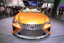 lexus lf c2 lexus lf c2 lexus rc convertible 2015 chengdu motor show