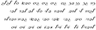 hebrew alphabet for dummies 2a