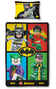 Batman Bedroom Sets Amazon Com Lego Batman U0027cards U0027 Single Panel Duvet Cover Baby