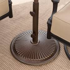 Umbrella Stand Patio Treasure Garden 50 Lb Cast Iron Classic Patio Umbrella Stand