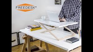 Turn Desk Into Standing Desk by Smart Standing Desk Kickstarter Best Home Furniture Decoration
