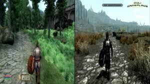 the elder scrolls skyrim versus oblivion overmental