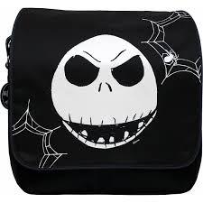 disney the nightmare before flapover messenger bag