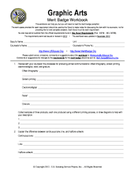 cooking merit badge worksheet answers worksheets art merit badge worksheet opossumsoft worksheets and