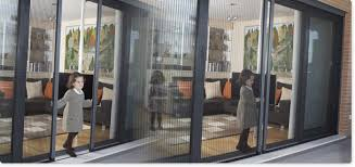 Patio Door Insect Screen Pleated Screens For Insects Sliding And French Doors Screens