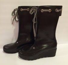 womens sperry boots size 9 sperry top sider wedge rainboots boots for ebay