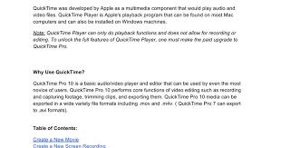file format quicktime player quicktime pro 10 guide google docs