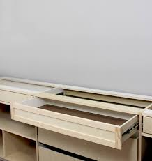 How To Build A Office Desk by Building Office Cabinets Gray House Studio