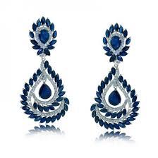 blue chandelier earrings shop chandelier earrings id jewelry jewelry in diamond