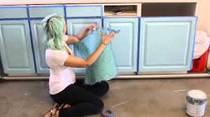 how to stencil furniture youtube
