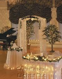Wedding Reception Decorations Lights 108 Best Christmas Weddings Images On Pinterest Winter Weddings