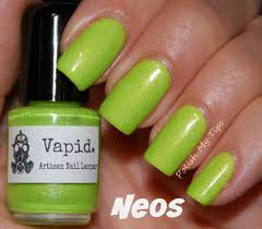 element of neon polish my tips