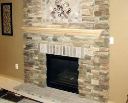 How To Reface A Fireplace by Fireplace Refacing Kits Stone Reface Fireplace With Stone Veneer