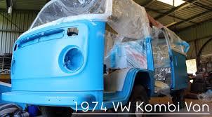 1974 volkswagen bus 1974 volkswagen kombi van restoration project youtube