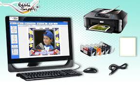 edible printing system photo cake printer system prezup for