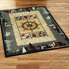 Nautical Bath Rug Sets Nautical Bath Rug Rope Mat Sets No2uaw