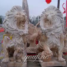 roaring lion statue lion statues for sale marble lion statues sculptures sale