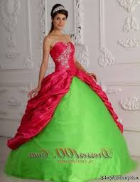 quinceanera dresses lime green and pink 2016 2017 b2b fashion