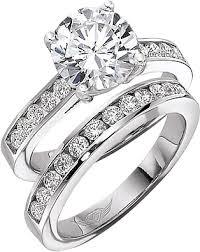 Circle Diamond Wedding Ring by Flyerfit Round Brilliant Channel Set Diamond Engagement Ring 5198ser