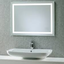 Backlit Bathroom Mirror by Distinctive Bathroom Mirrors U2013 Kitchen Ideas