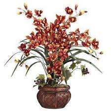 silk orchids silk orchids floral decor ebay