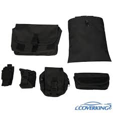 coverking tactical molle black custom fit seat covers for ford