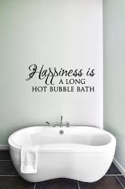 bathroom sink decals bathroom sinks decoration large happiness is a long hot bubble bath bathroom decor bathroom decal bathroom