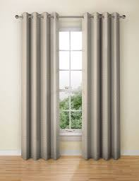 Short Drop Ready Made Curtains Brown Ready Made Curtains Mocha Taupe Eyelet Curtain M U0026s
