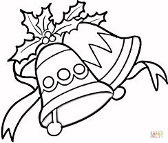 jingle bells coloring free printable coloring pages