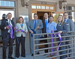 asheville business hometrust bank announces opening of new