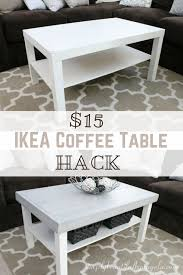 Glass Coffee Table Decor Best 25 Ikea Coffee Table Ideas On Pinterest Ikea Glass Coffee