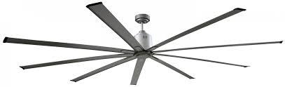 big air ceiling fan big air 96 inch industrial ceiling fan brushed nickel large