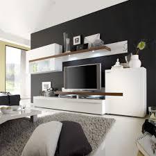 Schrankwand Wohnzimmer Modern Wohnideen Led