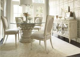 cochrane dining room furniture dining room white glass pedestal dining table design with
